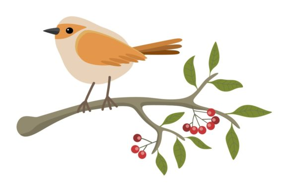 Download Free Illustration With Stylized Bird Graphic By Americodealmeida for Cricut Explore, Silhouette and other cutting machines.