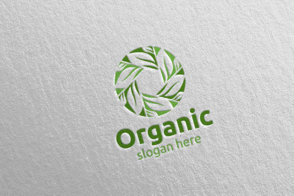 Download Free Infinity Natural And Organic Logo 3 Graphic By Denayunecf for Cricut Explore, Silhouette and other cutting machines.