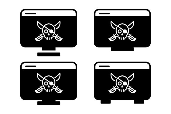 Download Free Internet Hacker Icon With Glyph Style Grafico Por Msholicha9 for Cricut Explore, Silhouette and other cutting machines.