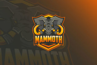 Download Free Mammoth Esport Logo Graphic By Burhan Bn006 Creative Fabrica for Cricut Explore, Silhouette and other cutting machines.