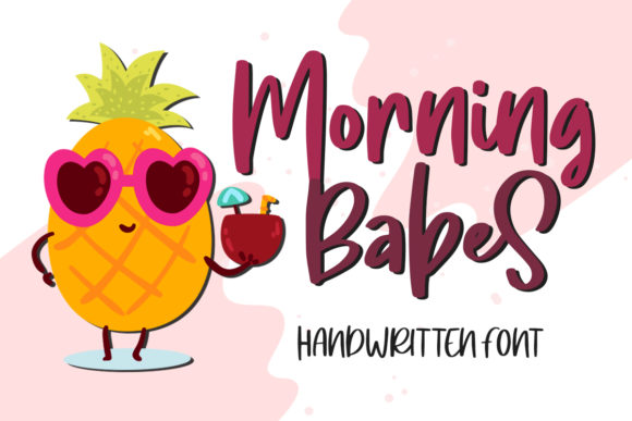 Print on Demand: Morning Babes Display Font By Typefar