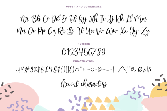 Print on Demand: Nicholia Script & Handwritten Font By Balpirick - Image 7