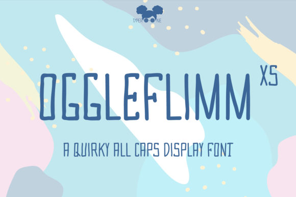 Print on Demand: Oggleflimm XS Display Font By typerookie