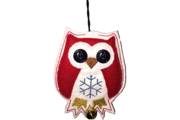 Owl Air Freshener Cover Birds Embroidery Design By Sue O'Very Designs