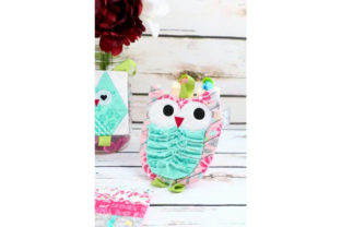 Owls in Love Hotpad Birds Embroidery Design By Sookie Sews