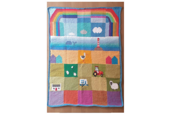 Patchwork Seaside Meadows Graphic Item