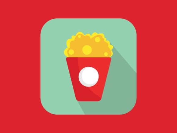 Download Free Theater Mask Icon Modern Full Color Graphic By Meandmydate for Cricut Explore, Silhouette and other cutting machines.