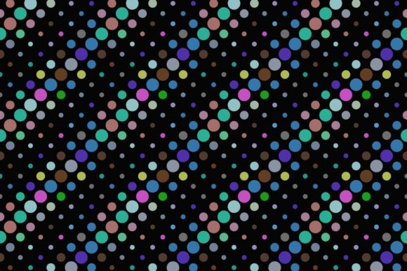 Download Free Seamless Colorful Dot Pattern Graphic By Davidzydd Creative for Cricut Explore, Silhouette and other cutting machines.