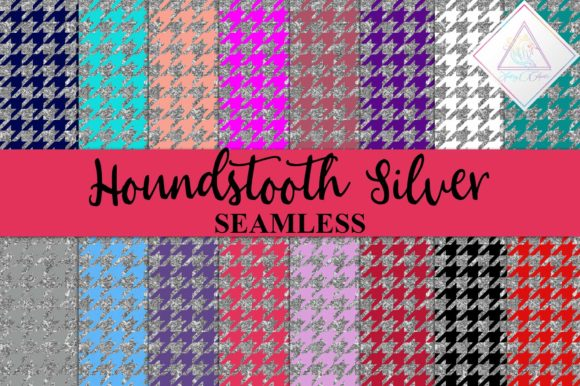 Download Free 3 Hounds Tooth Designs Graphics for Cricut Explore, Silhouette and other cutting machines.
