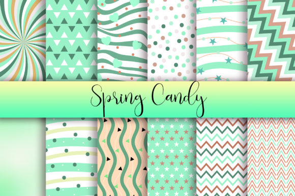 Download Free Spring Candy Background Digital Papers Grafico Por Pinkpearly for Cricut Explore, Silhouette and other cutting machines.