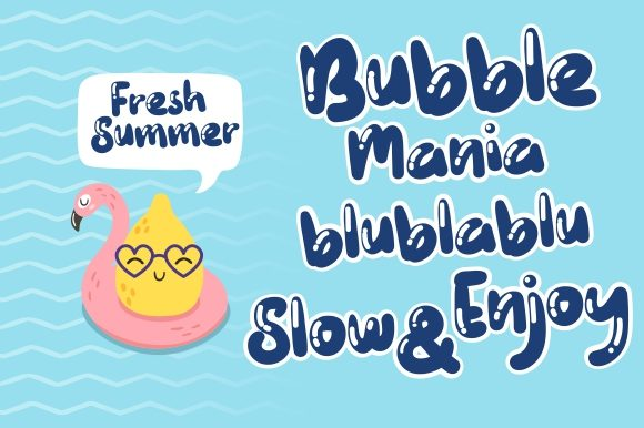 Download Free Wadaw Mania Font By Eknoji Creative Fabrica for Cricut Explore, Silhouette and other cutting machines.