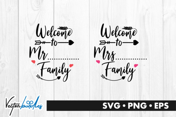 Download Free Welcome To Family Quote Graphic By Vectorbundles Creative Fabrica for Cricut Explore, Silhouette and other cutting machines.
