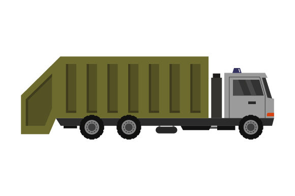 Download Free Garbage Truck Icon Graphic By Marco Livolsi2014 Creative Fabrica for Cricut Explore, Silhouette and other cutting machines.