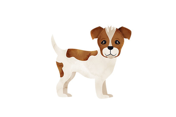 Jack Russell Terrier Dogs Craft Cut File By Creative Fabrica Crafts - Image 1
