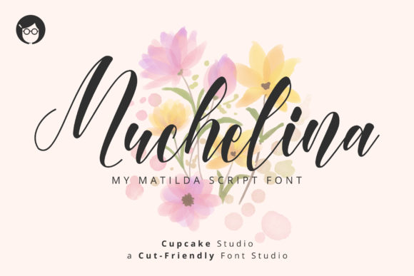 Download Free Al Muchelina Font By Cupcake Creative Fabrica for Cricut Explore, Silhouette and other cutting machines.