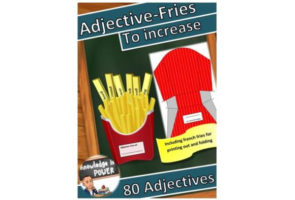 Adjectives Spanish Graphic Teaching Materials By alifarid