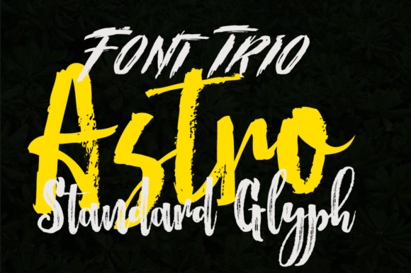 Print on Demand: Astro Display Font By Jorse