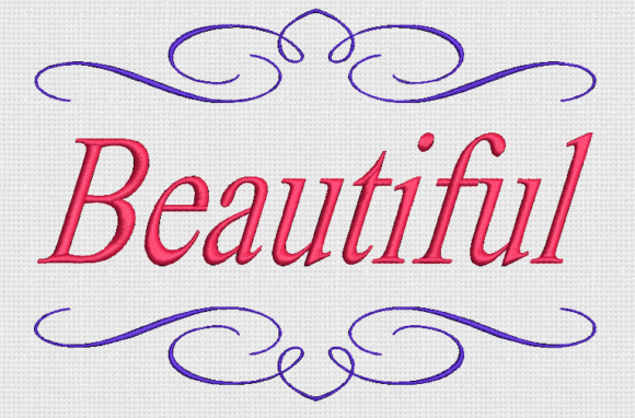 Beautiful Inspirational Embroidery Design By Alpine Mastiff Designs