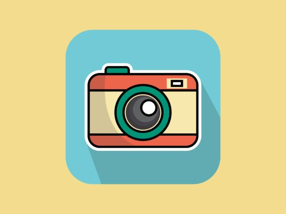 Download Free Icon Photo Camera Graphic By Meandmydate Creative Fabrica for Cricut Explore, Silhouette and other cutting machines.