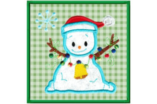 Christmas Scarf Applique Christmas Embroidery Design By Sookie Sews