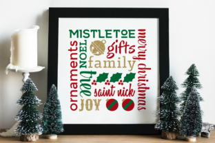 Christmas Subway Art Graphic Crafts By DesignedByGeeks