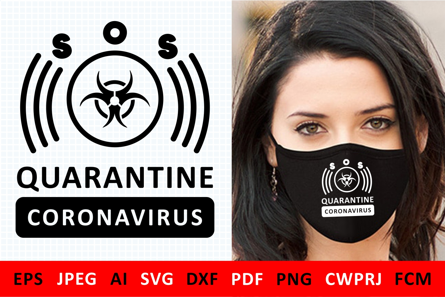 Coronavirus Quarantine Icon Graphic By Millerzoa Creative Fabrica