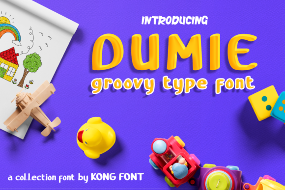 Print on Demand: Dumie Display Font By fontkong