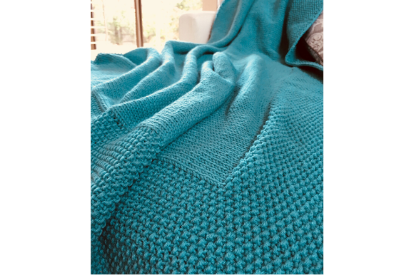 Easy Knitted Blanket Graphic Knitting Patterns By myoumaralie - Image 2