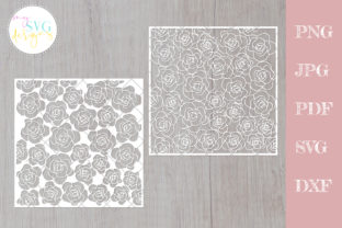Flower Pattern, Floral Lace  Graphic Crafts By MySVGDesigns
