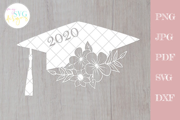 Download Free Graduation Cap Senior 2020 Graphic By Mysvgdesigns Creative for Cricut Explore, Silhouette and other cutting machines.