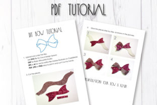 Hair Bow Template Graphic 3D SVG By ArtiCuties 3