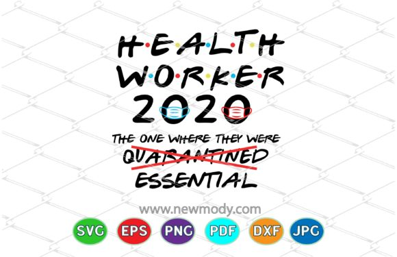 Download Free Health Worker 2020 Nurse 2020 Graphic By Amitta Creative Fabrica for Cricut Explore, Silhouette and other cutting machines.
