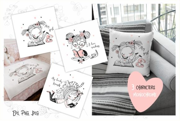 Download Free I Like Reading Grafico Por Grigaola Creative Fabrica for Cricut Explore, Silhouette and other cutting machines.