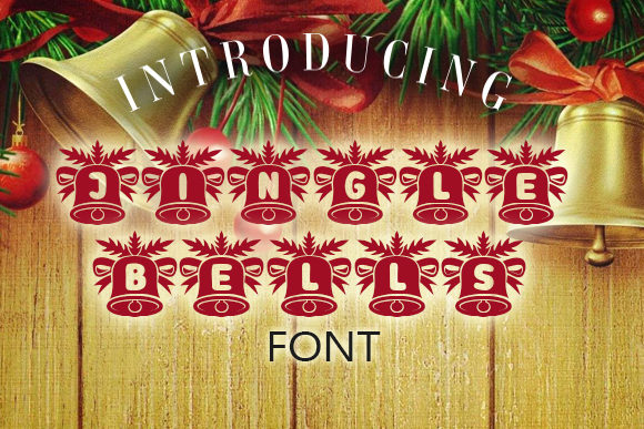 Print on Demand: Jingle Bells Decorative Font By vladimirnikolic