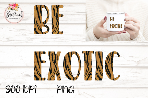 Download Free Joe Exotic Be Exotic Transparent Grafico Por Shepixel Creative Fabrica for Cricut Explore, Silhouette and other cutting machines.