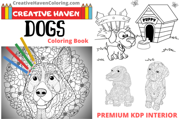 - 1 Colouring Books For Grown Ups Designs & Graphics