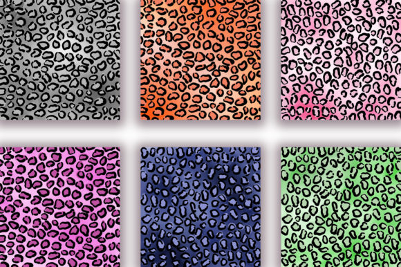Leopard Ombre Background Digital Papers Graphic Backgrounds By PinkPearly - Image 4