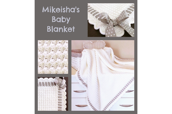 Mikeisha's Baby Blanket Graphic Crochet Patterns By myoumaralie - Image 3