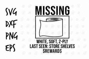 Download Free Missing Toilet Paper Design Graphic By Spoonyprint Creative for Cricut Explore, Silhouette and other cutting machines.
