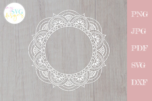 Download Free Mandala Graphic By Mysvgdesigns Creative Fabrica for Cricut Explore, Silhouette and other cutting machines.