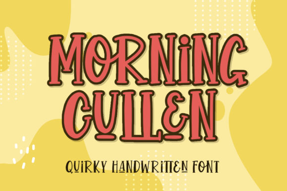 Print on Demand: Morning Cullen Script & Handwritten Font By Typefar