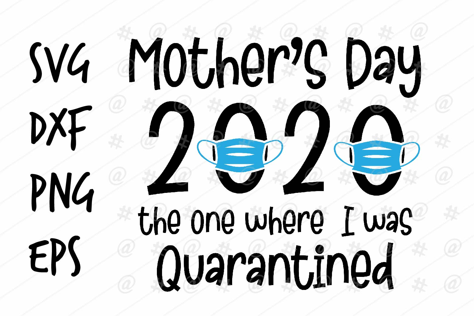Download Free Mother S Day 2020 Graphic By Spoonyprint Creative Fabrica for Cricut Explore, Silhouette and other cutting machines.