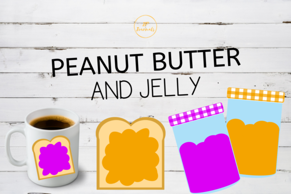 Print on Demand: Peanut Butter and Jelly Graphic Illustrations By jpjournalsandbooks