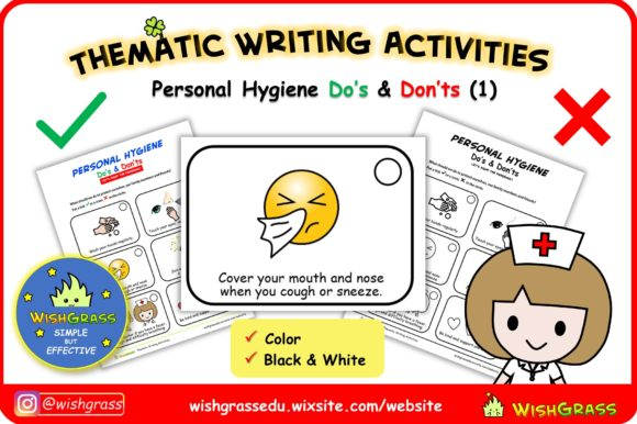 Personal Hygiene Do's & Don'ts Graphic 1st grade By wishgrass.edu