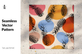 Download Free Pineapple Seamless Pattern Graphic By Northseastudio Creative Fabrica for Cricut Explore, Silhouette and other cutting machines.