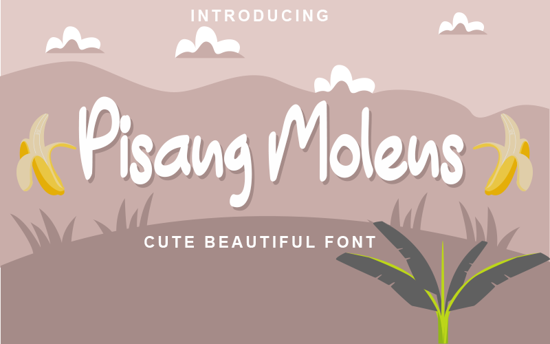 Download Free Pisang Molens Font By Inermedia Studio Creative Fabrica for Cricut Explore, Silhouette and other cutting machines.