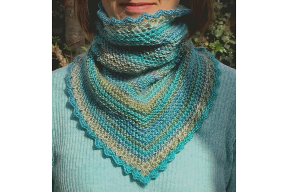 Polo Neck Cowl Graphic Crochet Patterns By myoumaralie