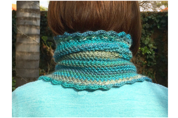 Polo Neck Cowl Graphic Crochet Patterns By myoumaralie - Image 2