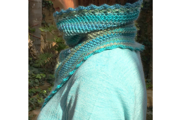 Polo Neck Cowl Graphic Crochet Patterns By myoumaralie - Image 3