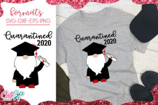 Download Free Quarantined 2020 Gnome Graphic By Cute Files Creative Fabrica for Cricut Explore, Silhouette and other cutting machines.